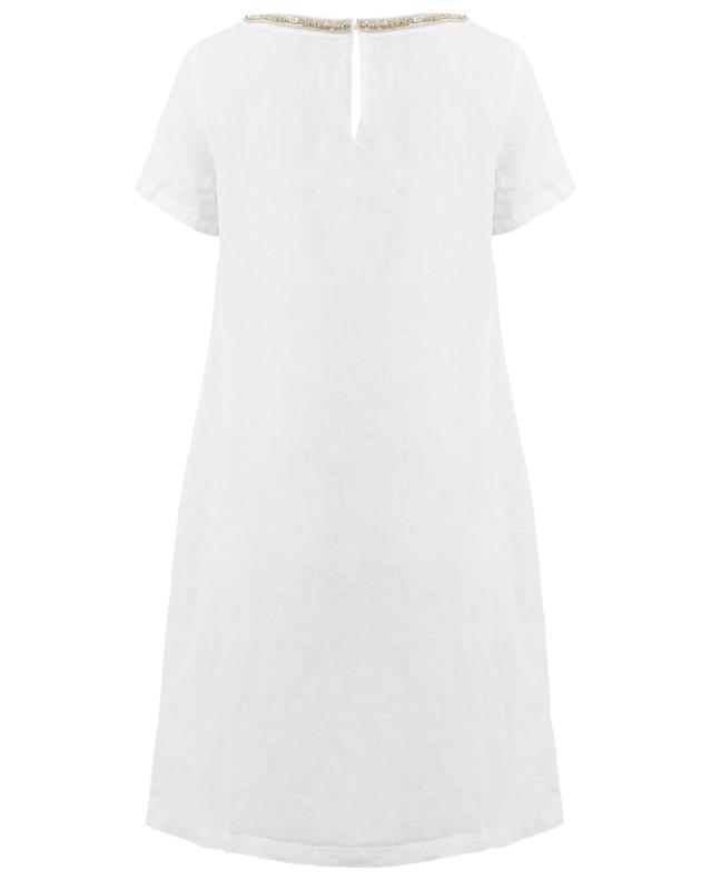 Robe courte en lin 120% LINO