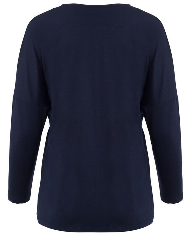 Long-sleeved modal blend top ZIMMERLI