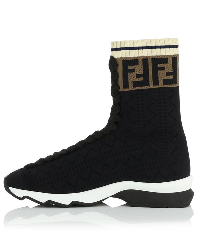 Hohe Sockensneakers FF FENDI