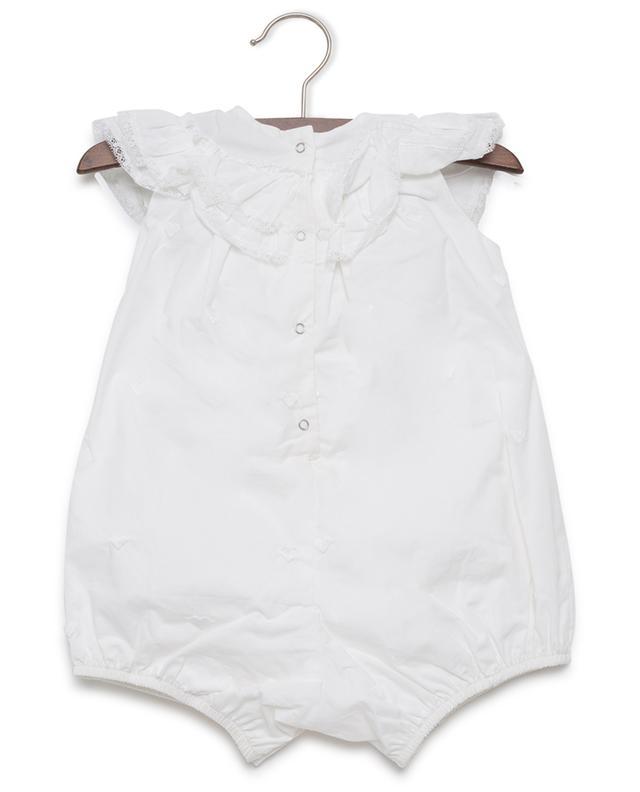 Cotton playsuit MONNALISA