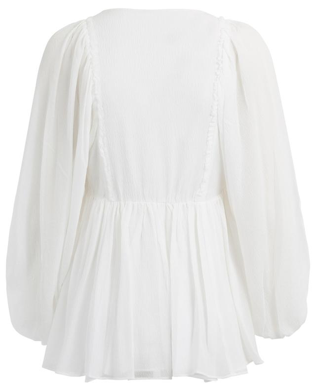 Ilka silk blend blouse HEMISPHERE