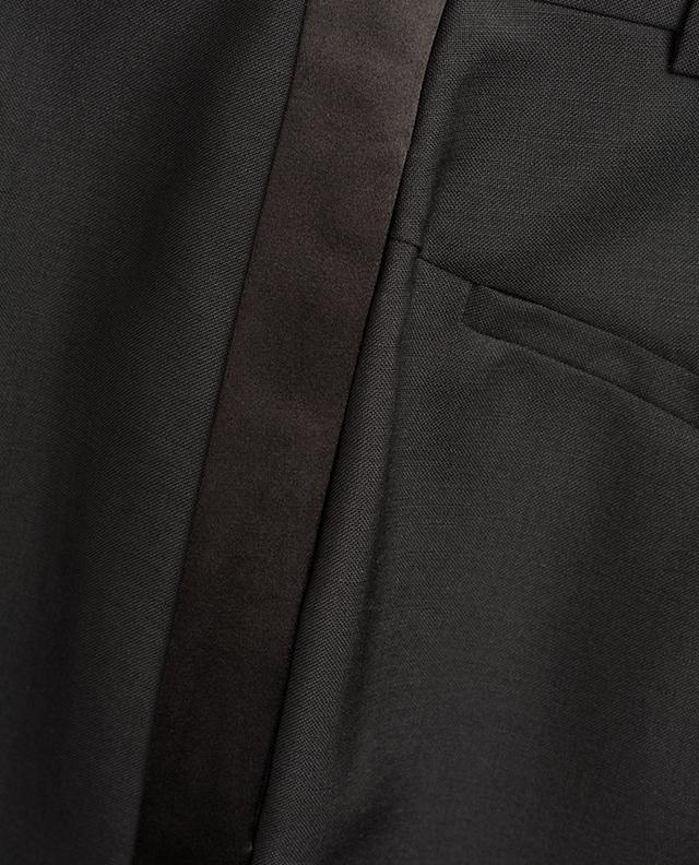 Satin band embellished tuxedo trousers GIVENCHY