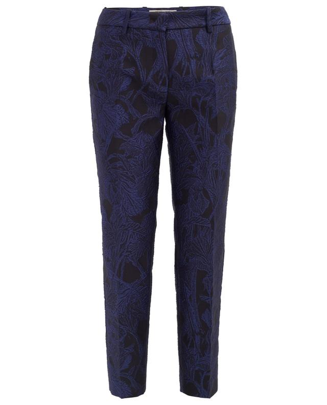 Textured cropped trousers ROBERTO CAVALLI