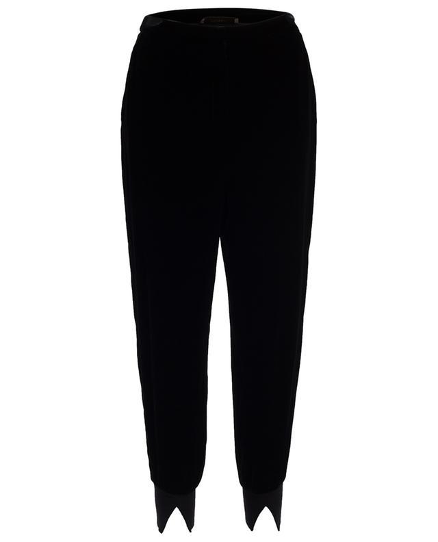 Velvet jogging trousers TWINSET