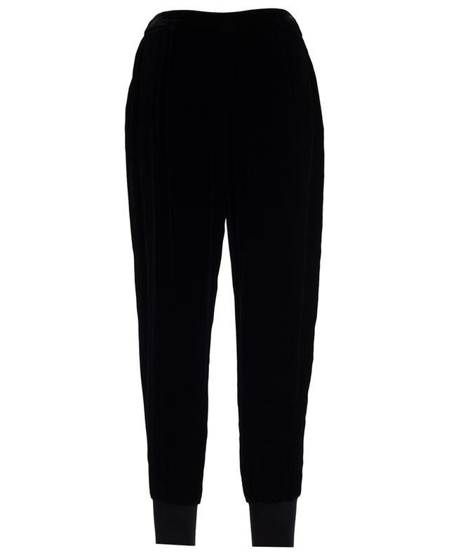Velvet jogging trousers TWINSET
