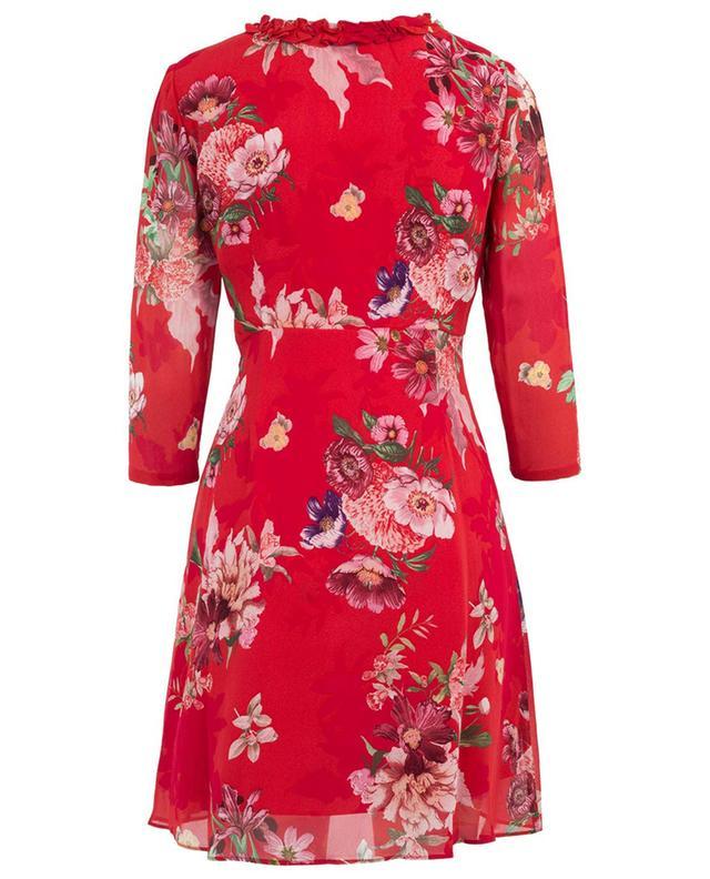 Kurzes Kleid aus Viskose mit Print TWINSET