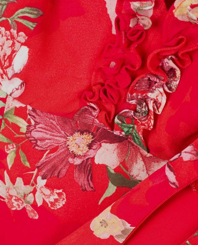 Short printed viscose dress TWINSET