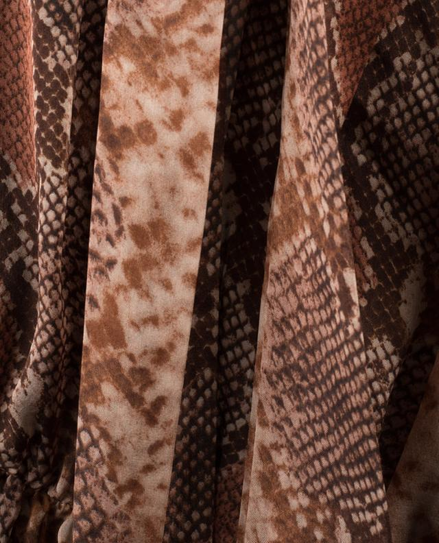 Robe en soie imprimée TWINSET