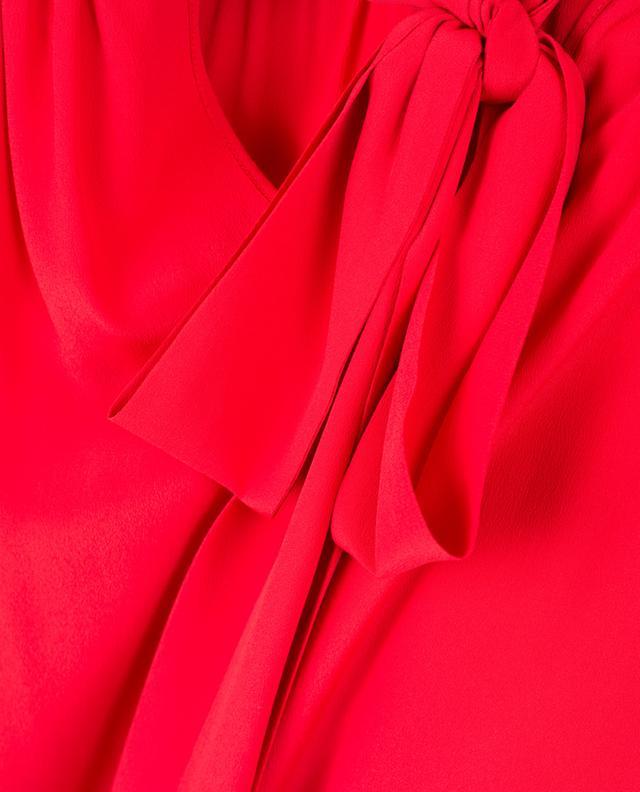 Fliessende Bluse aus Acetat und Seide TWINSET