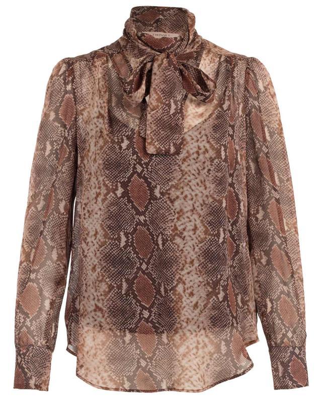 Printed silk blouse TWINSET