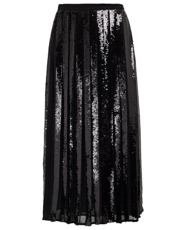 Pleated midi-length skirt TWINSET