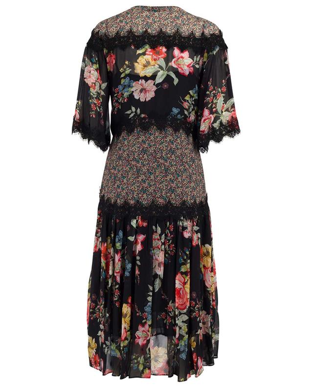 Midi dress with lace TWINSET
