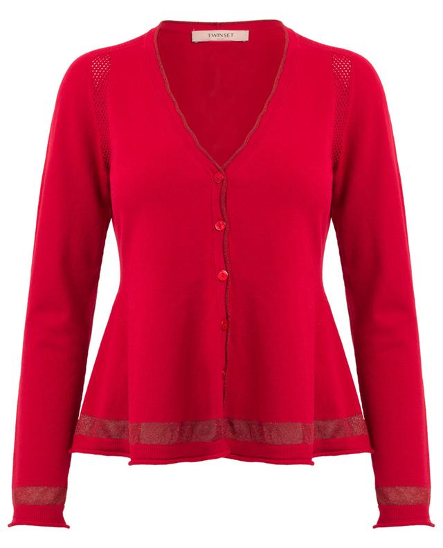 Cardigan with sequins TWINSET