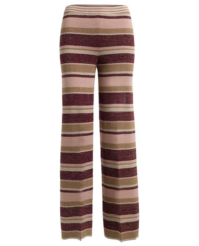 Lurex wide leg trousers TWINSET