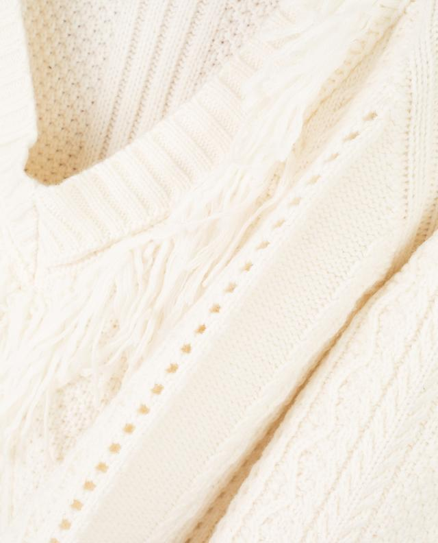 Pull en laine et cachemire mélangés TWINSET