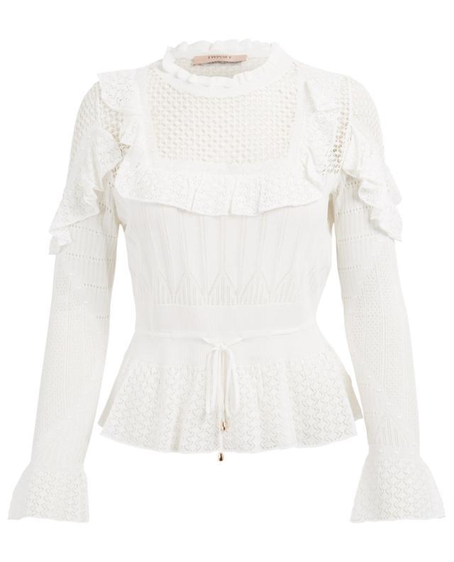 Pullover aus Baumwollmix TWINSET
