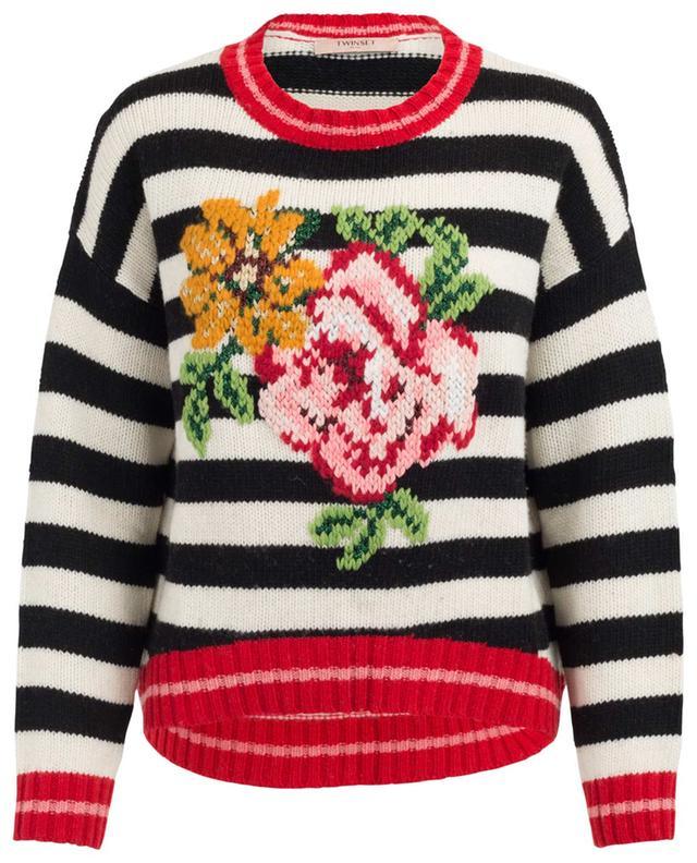 Pullover aus Wollmix TWINSET