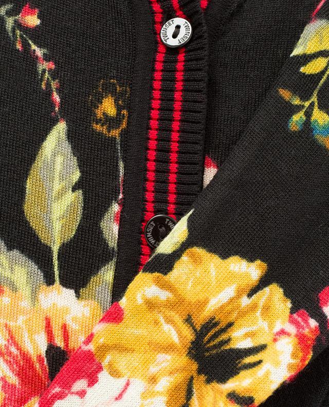 Langer Cardigan aus Wolle TWINSET