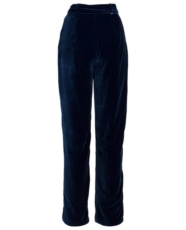 Weite Hose aus Samt Cocoon EZGI CINAR