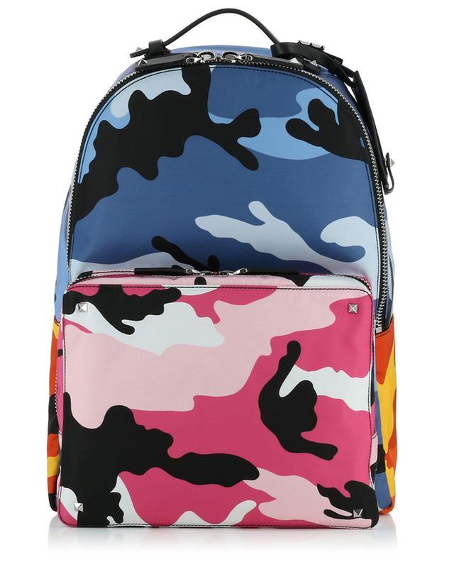 Rucksack mit Camouflage-Print VALENTINO