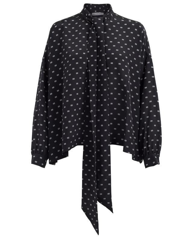 2cc32c7a4262c BALENCIAGA Fluide Vareuse silk blouse - Bongénie-Grieder
