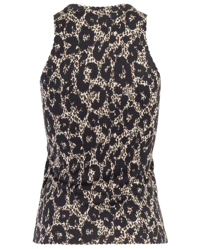 Wool, cashmere and silk tank top ROBERTO CAVALLI