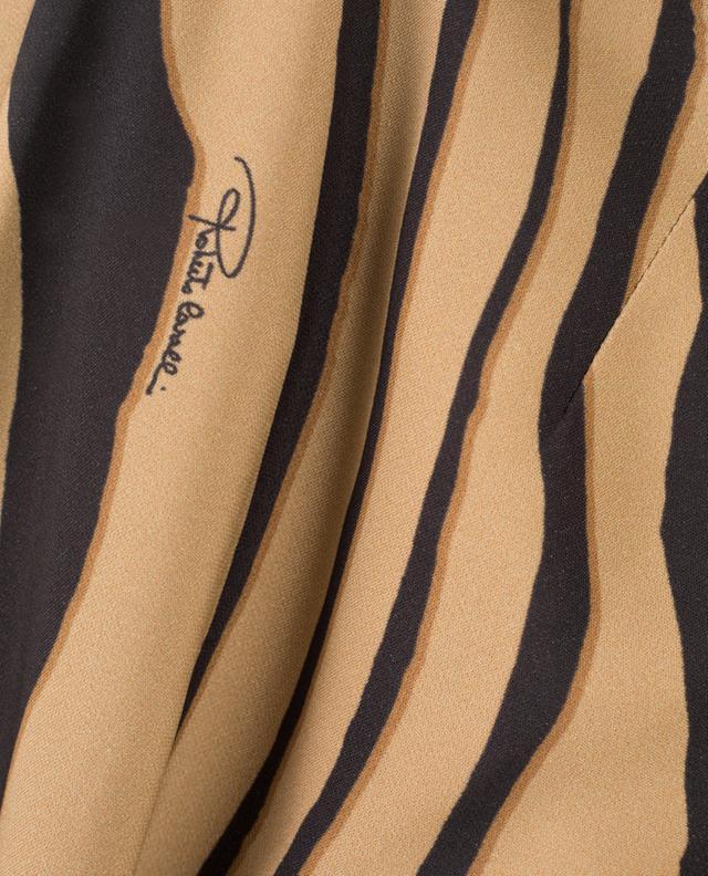 Printed tapered leg trousers ROBERTO CAVALLI