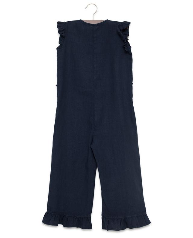 Sleeveless linen jumpsuit IL GUFO