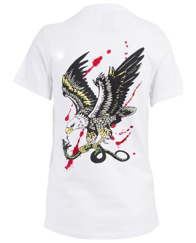 Embroidered cotton T-shirt ZOE KARSSEN