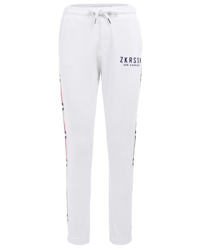 Cotton jogging trousers ZOE KARSSEN