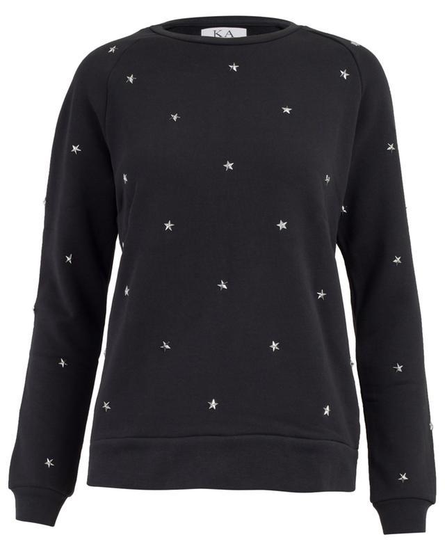 Star Studs cotton blend sweatshirt ZOE KARSSEN