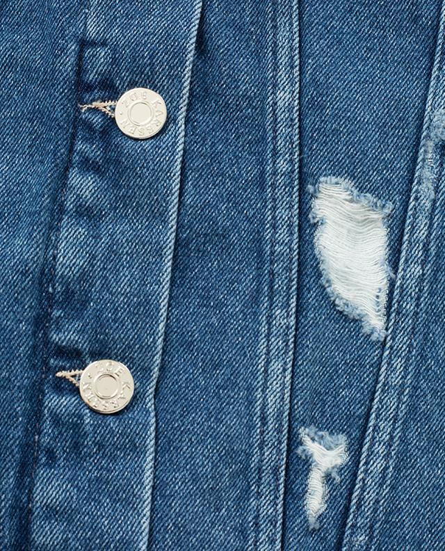 Eagle embroidered denim jacket ZOE KARSSEN