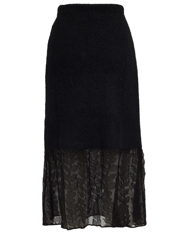 Wool and silk midi skirt SONIA RYKIEL