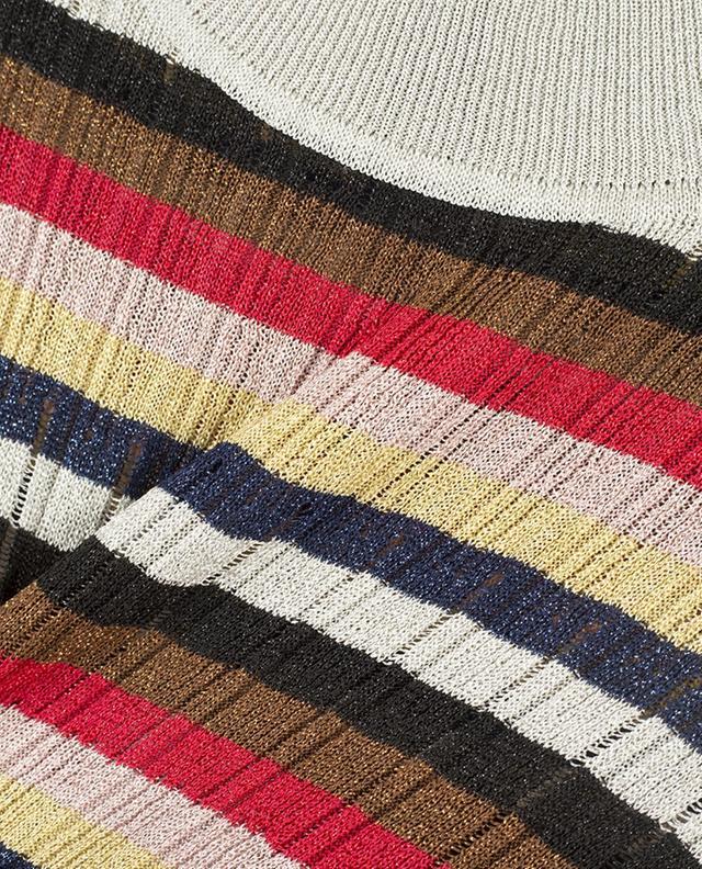 Kurzärmliger Pullover aus Lurex SONIA RYKIEL