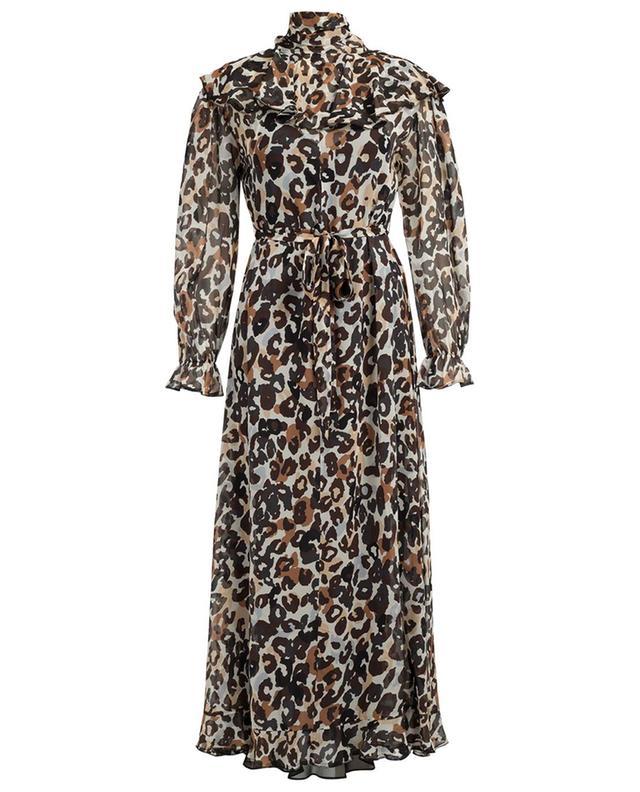 Langes Kleid aus Seide mit Print SONIA RYKIEL