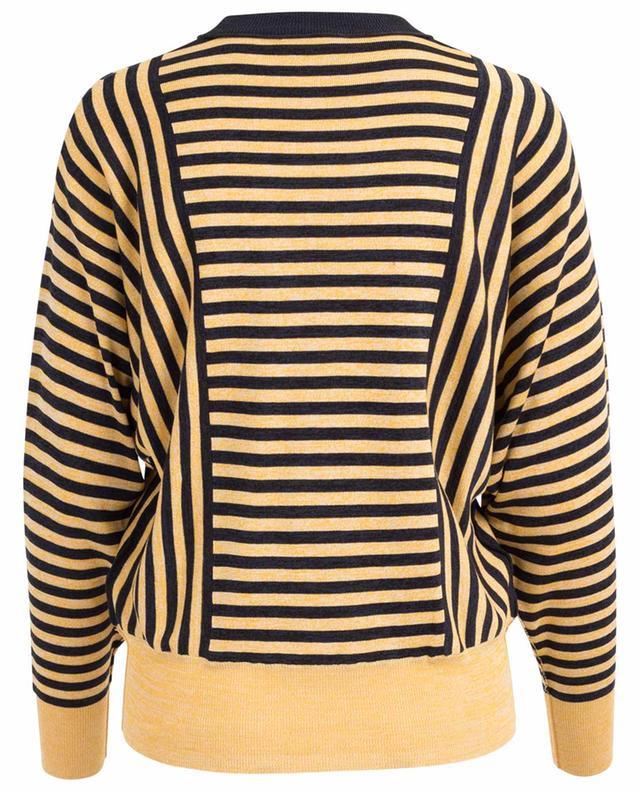 Gestreifter Pullover aus Seide und Baumwolle SONIA RYKIEL