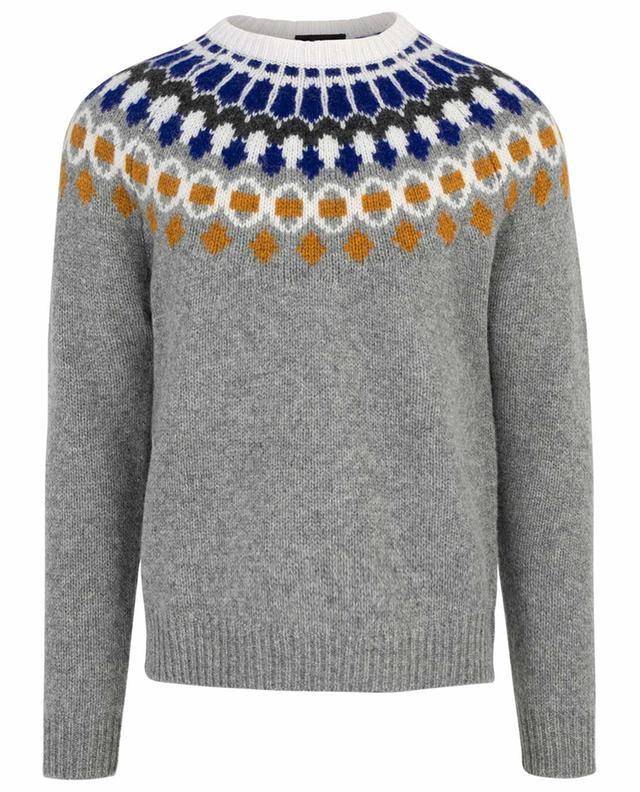 Pullover aus Wolle Fair Isle JOSEPH