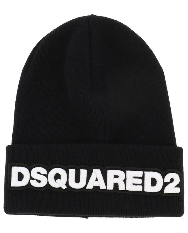 Bonnet en laine brodé DSQUARED2