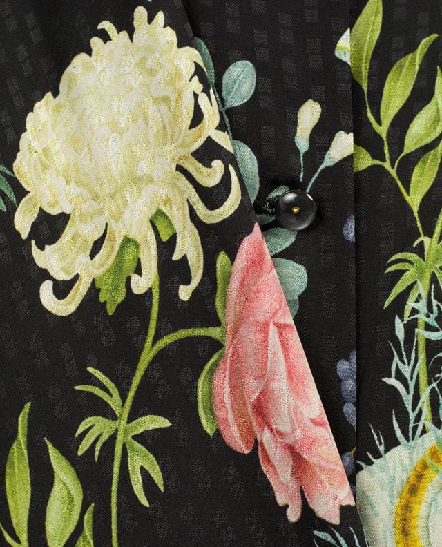 Robe en soie imprimée Olivia VILSHENKO