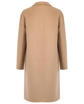 Straight wool and cashmere coat KENZO