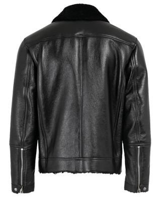 Leather and shearling jacket TOM FORD