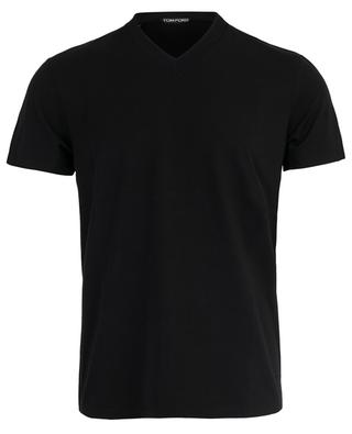 Slim-Fit T-Shirt aus Baumwolle TOM FORD