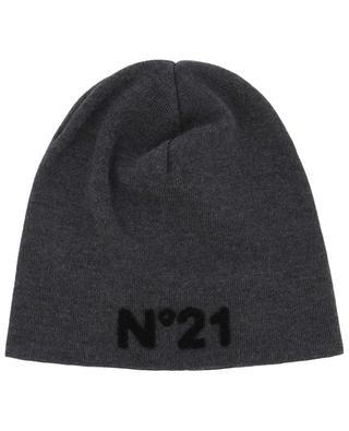 Bonnet en laine vierge N°21
