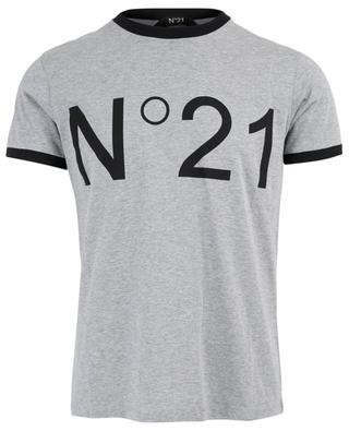 T-shirt en coton imprimé N°21