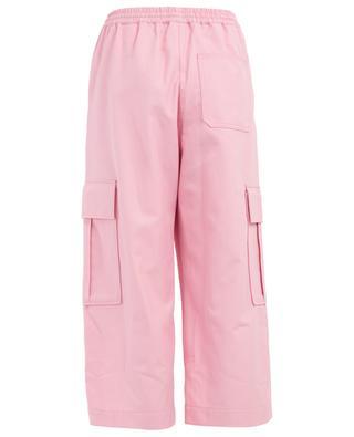Weite Hose aus Baumwolle und Schurwolle KENZO