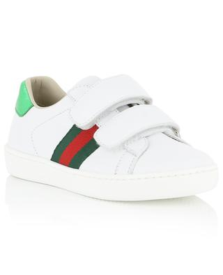 Ace leather sneakers GUCCI