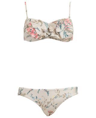 Bandeau-Bikini Bayou Frill ZIMMERMANN