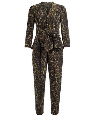 Printed silk jumpsuit STELLA MCCARTNEY