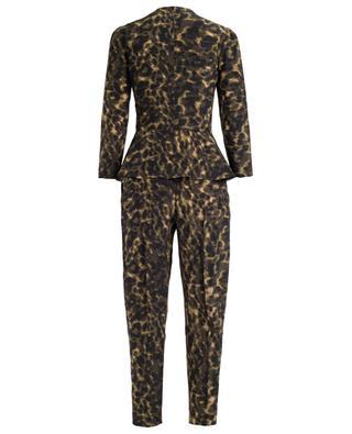 Printed silk jumpsuit STELLA MCCARTNEY