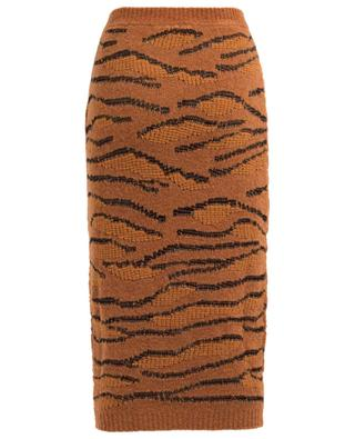 Wool and cotton blend pencil skirt STELLA MCCARTNEY